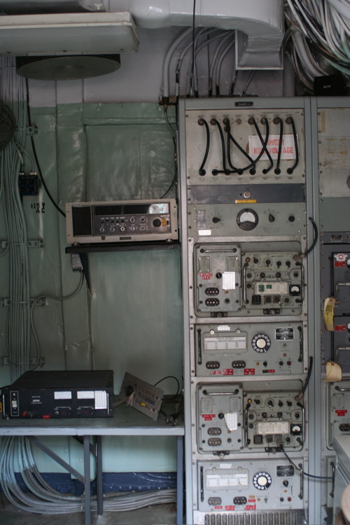 Radio Room on the USCGC Taney