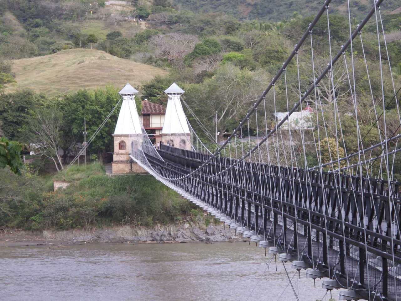 One of the oldest suspension bridges in the world
