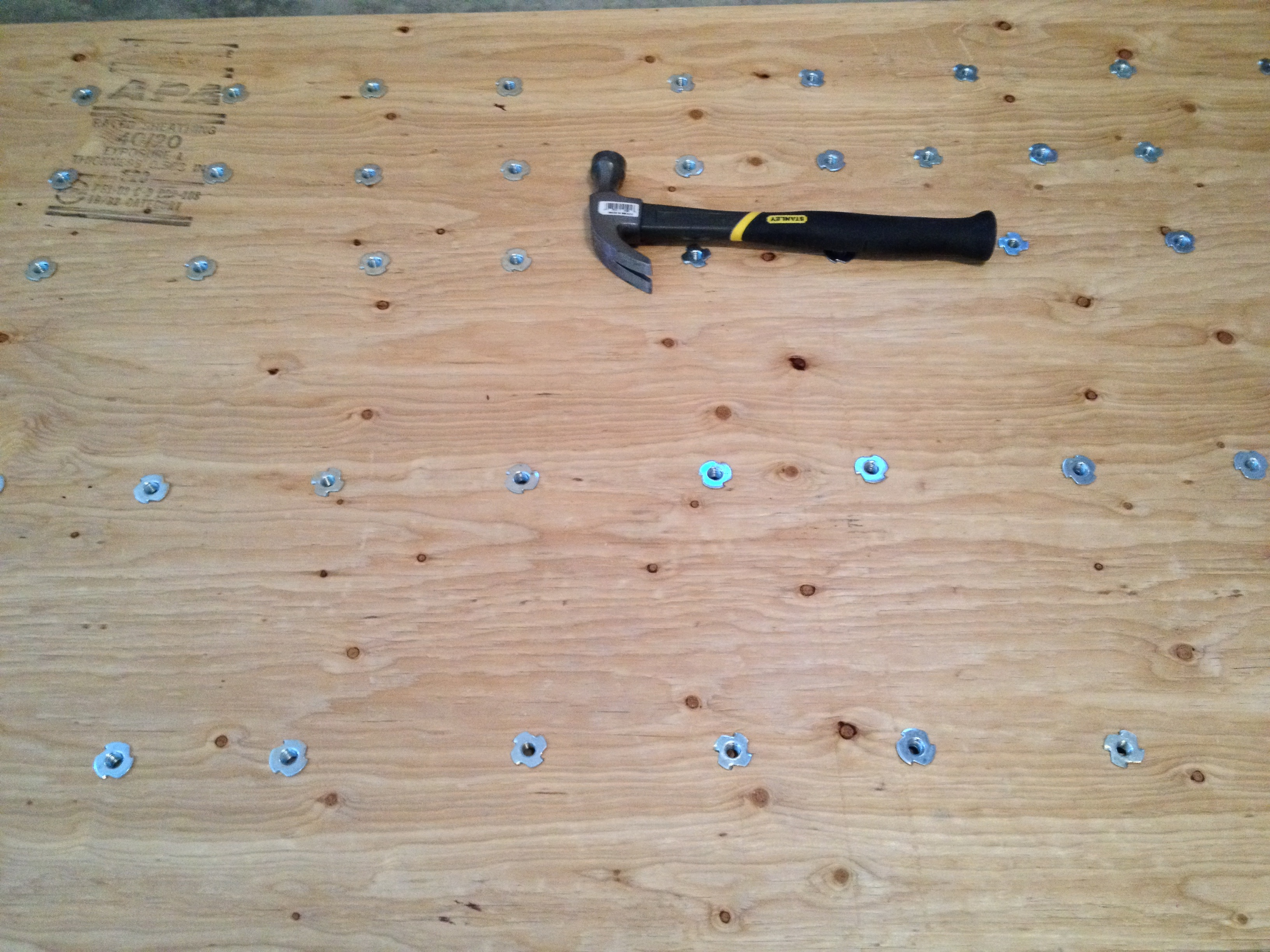 how to build an icy climbing wall